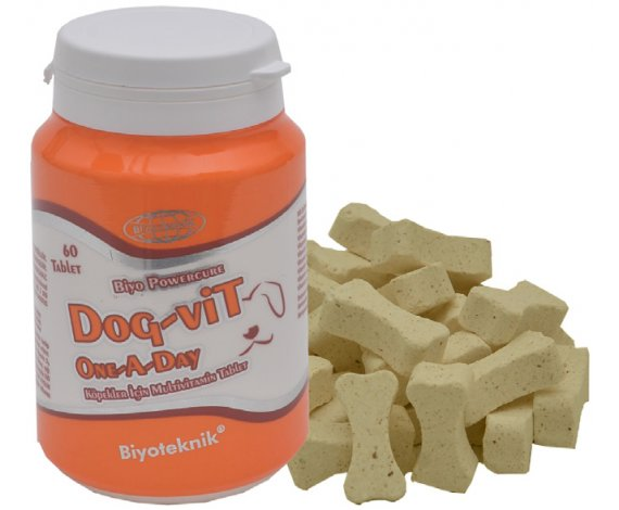 Biyo Dog-Vit One A Day (Köpekler İçin Multivitamin Tablet)